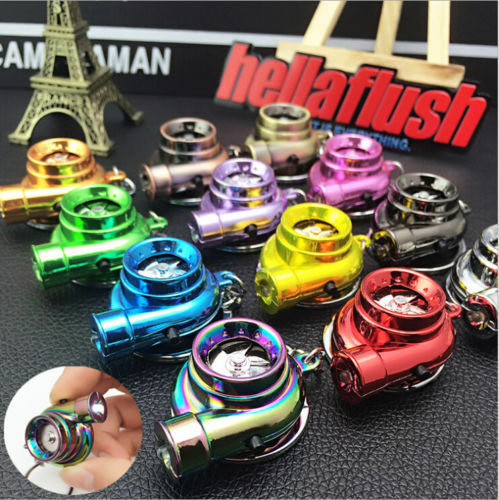 LED-Electronic-Turbo-Keychain-Sleeve-Spinning-Turbine-With-Sound-Key-Chain-Gifts