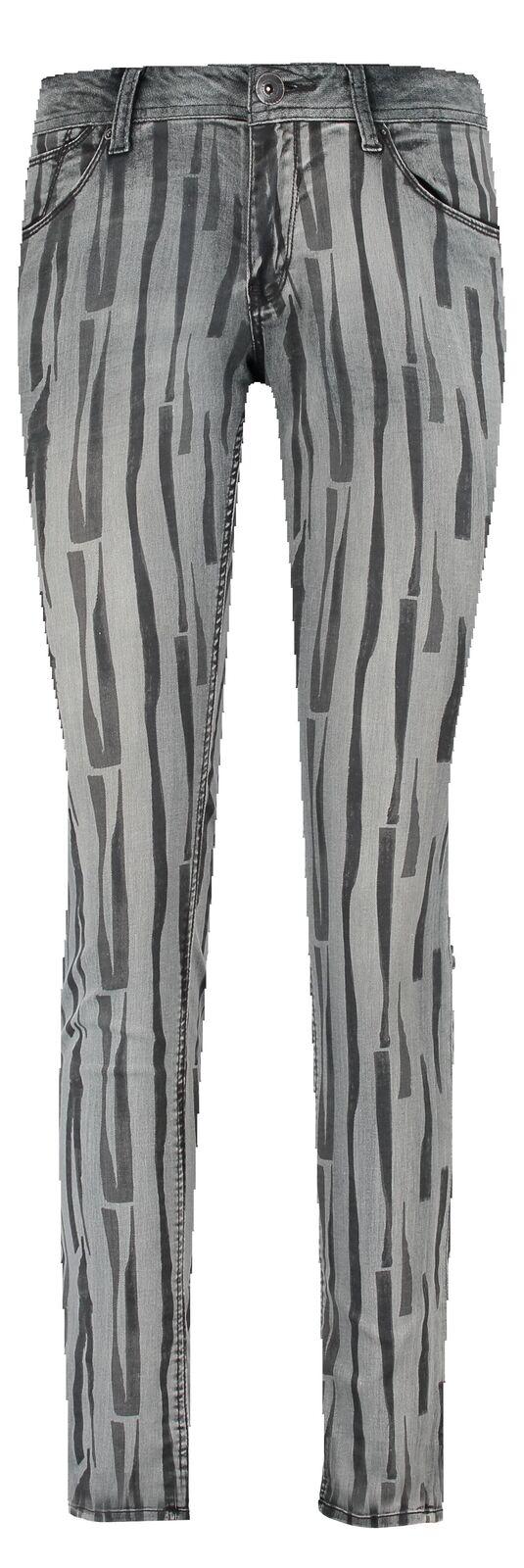 Garcia Damen Jeans Rachelle grau Shade Shade Shade Hose Print Neu a75741