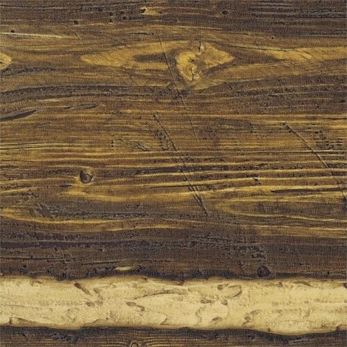 41382 Brown Embossed Raised Texture Logs Wallpaper Double Roll   96501