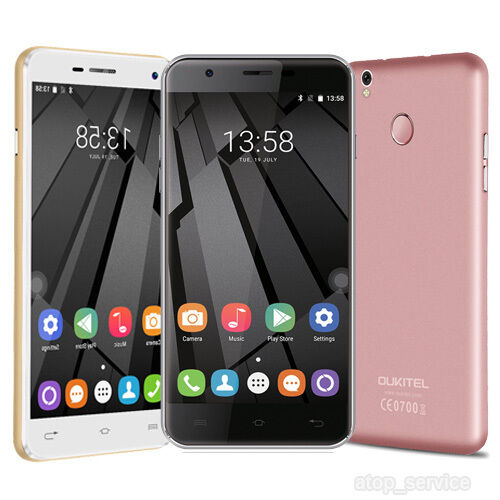 Original OUKITEL U7 Plus 4G LTE Handy Android Quad-core 2G+16GB 13MP Fingerprint