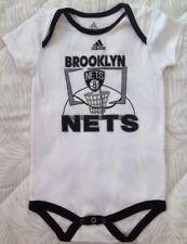 7290a51e421e adidas Brooklyn Nets Infant White Primary Logo Bodysuit - NBA Sz 24 Mo NEW