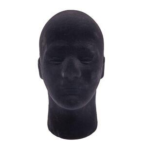 5Pcs Male Styrofoam Foam Mannequin Manikin Head Model Wigs Cap Display Stand