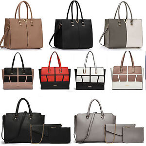 Image Is Loading Women 039 S Large V Tote Handbags Shoulder