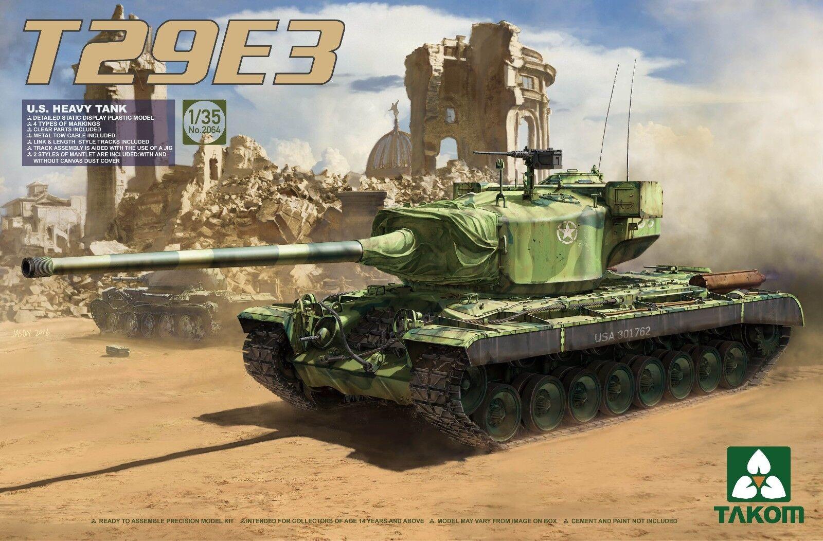 Takom 1 35 2064 US Heavy Tank T-29E3