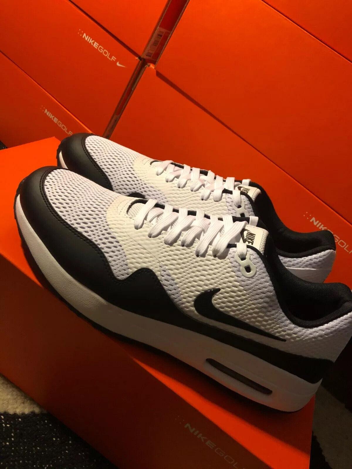 Nike F1 Flex Size 11 Black White Grey 849960 001 Mens Golf Shoes For Sale Online Ebay