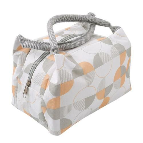 Insulated Thermal Lunch Box Bag Women Girls Kids School Office Picnic Pouch G