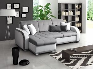 Image Is Loading Avio Universal Side Corner Sofa Bed Fabric Comfy