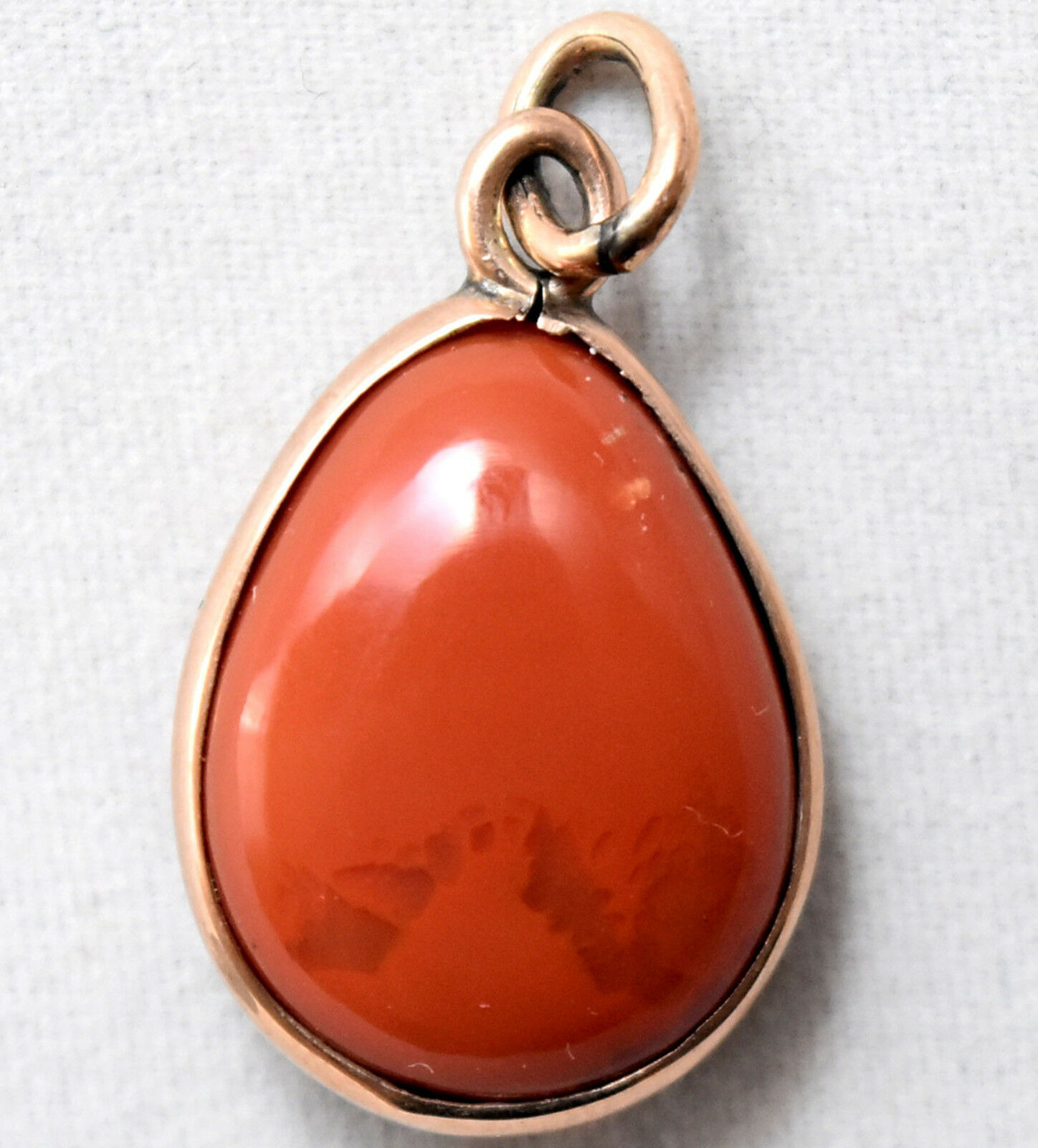 Vintage 10K Solid gold and Mexican Opal Pendant