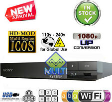 NEW SONY S3700  REGION FREE BLU RAY PLAYER MULTI ZONE ALL REGION CODEFREE WI-FI