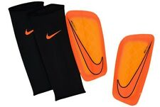 NIKE Mercurial Lite, Soccer Shin Guards, Size: (S/P) or (M/M) or (L/G), Orange