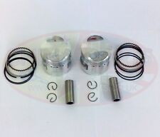 Piston & Rings Set Twin Cylinder Air Cooled 244FMI for CB125T Engines 244 FMI