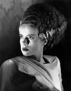 THE BRIDE OF FRANKENSTEIN BLACK AND WHITE 8x10 classic Portrait 2 !!!