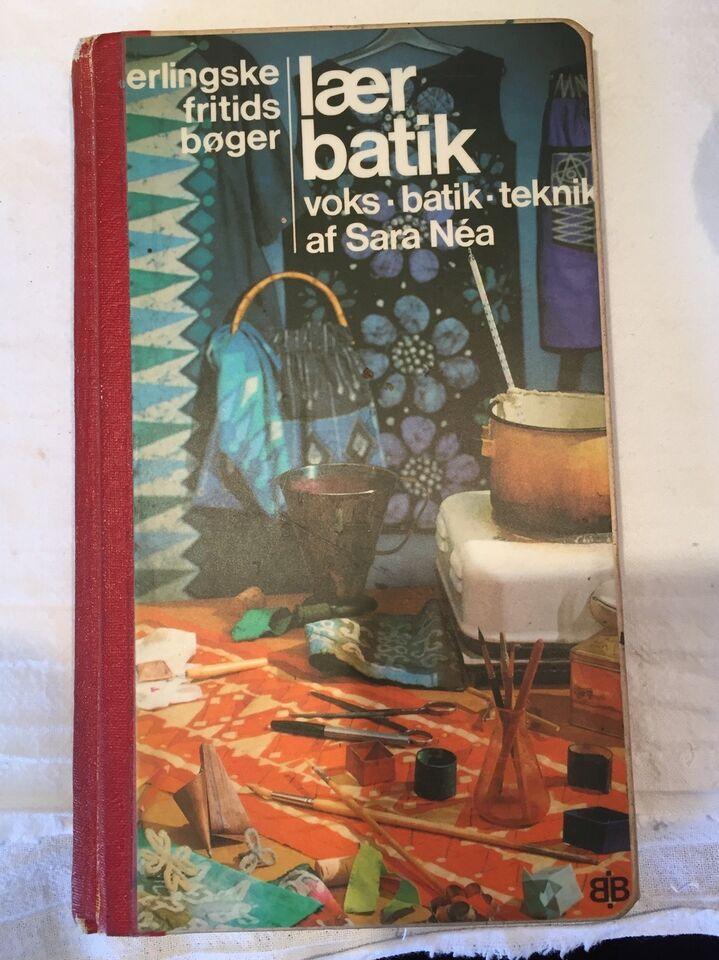 Hobbybøger, Batikfarve