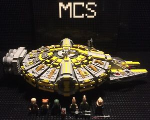 Custom-MCS-Star-War-Yellow-and-Gray-Coreiian-Cargo-Vessel-with-Crew