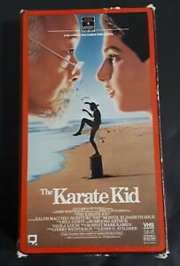 The-Karate-Kid-VHS-Tapes-1985-RCA-Original-1st-Issues-Side-Flip-Ralph-Macchio