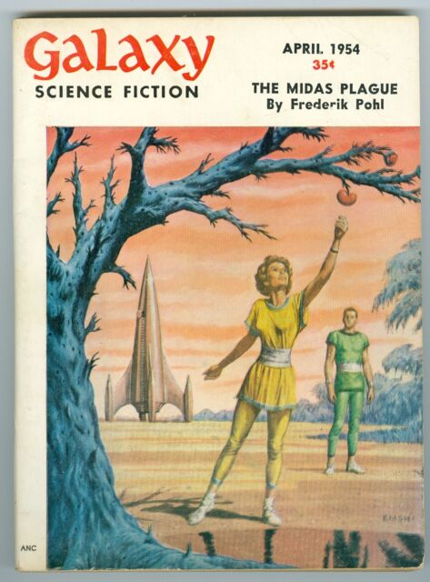 Galaxy Science Fiction April 1954