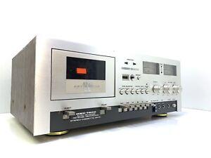 AKAI-GXC-730D-Tape-Deck-Vintage-1976-Auto-Reverse-3-Head-Refurbished-Like-New