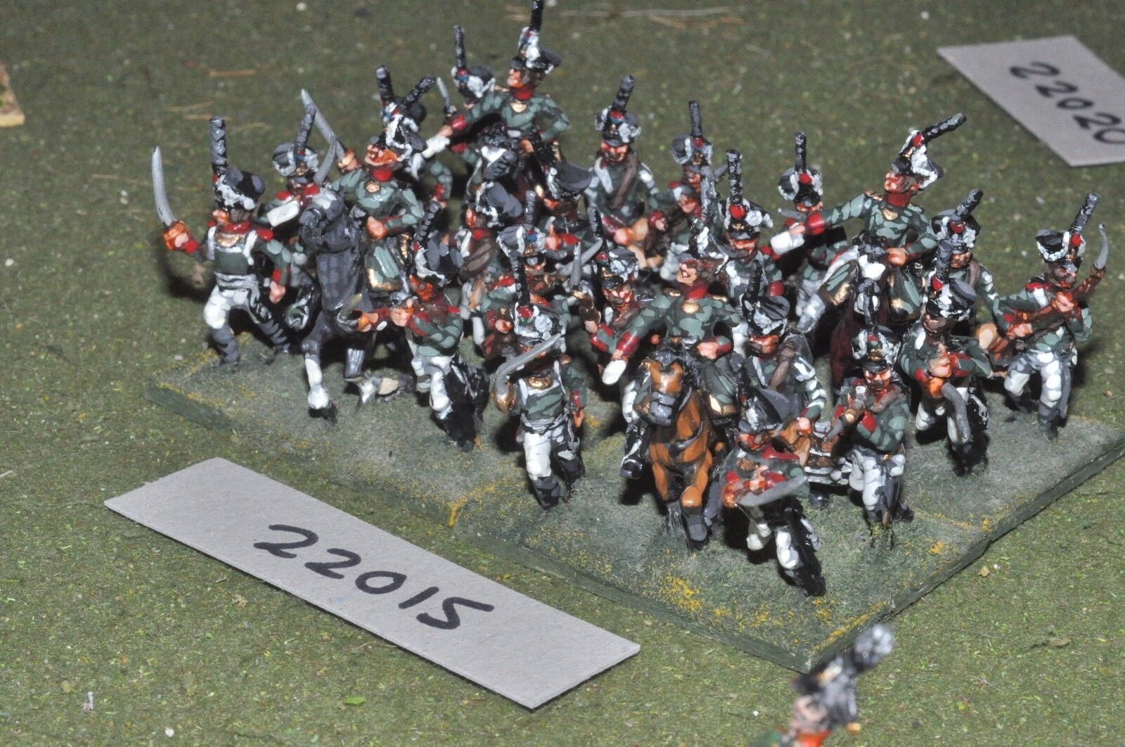 25mm napoleonic   russian - grenadiers 24 figs infantry - inf (22015)