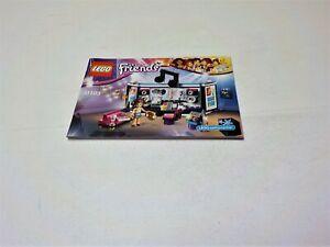 Lego 41103 Friends Pop Star Recording Studio Instruction Manual Book