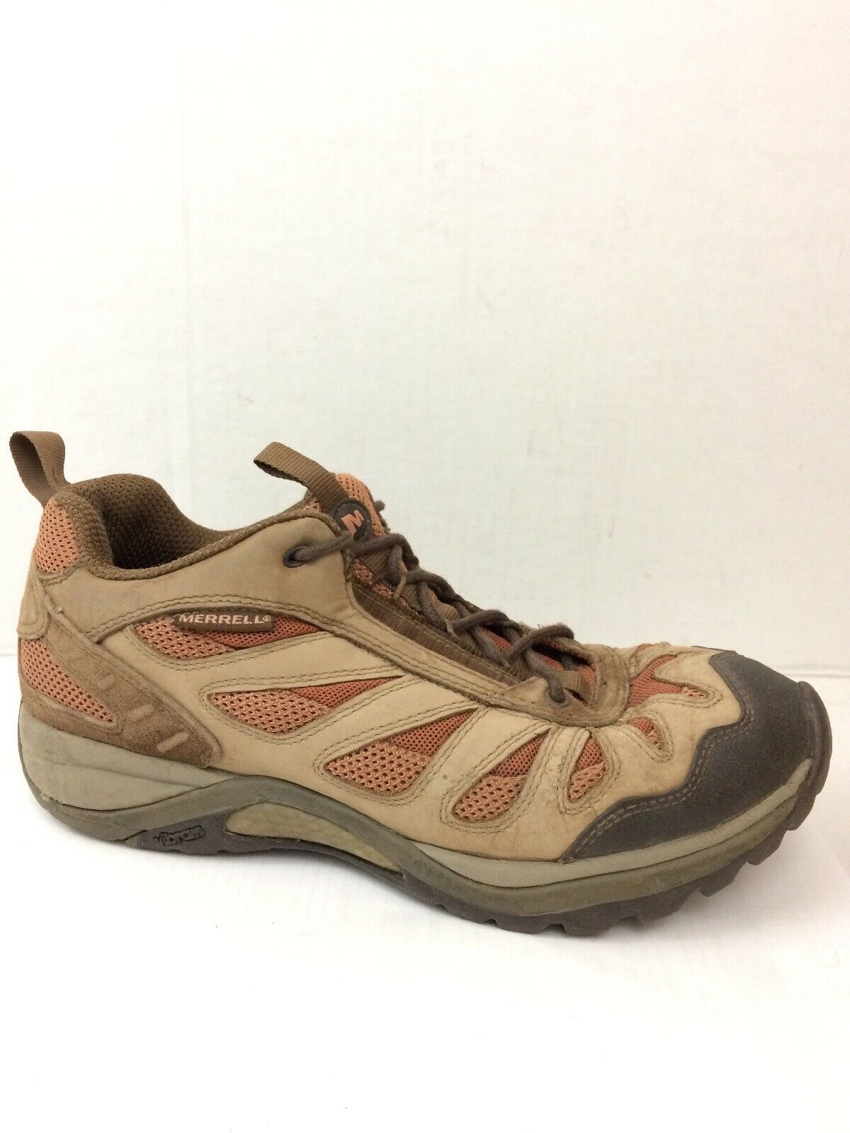 M 9.5 pour Merrell Marron femme VIBRAM Chaussures paniers