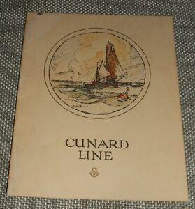 Original-1928-Birthday-Dinner-Menu-on-R-M-S-Carinthia-Cunard-Line-Vintage-menu