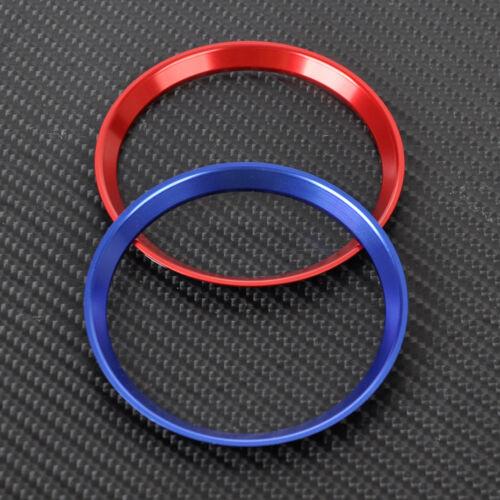 Aluminum Steering Wheel Badge Ring Trim Cover for 2015 2016 Benz C-Class GLA200