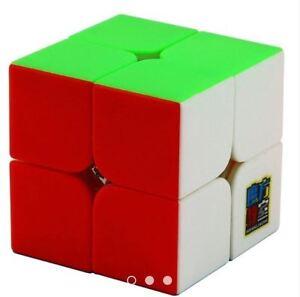 MoFang-JiaoShi-MF2S-2x2x2-Rubik-039-s-Cube-Red-Stickerless
