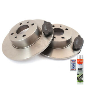 Brake-Discs-Pads-Front-Axle-for-Iveco-Daily-III-Box-Wagon
