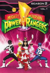 MIGHTY-MORPHIN-POWER-RANGERS-SEASON-2-VOL-1-DVD