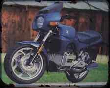 BMW K75C 86 A4 Foto Impresión moto antigua añejada De