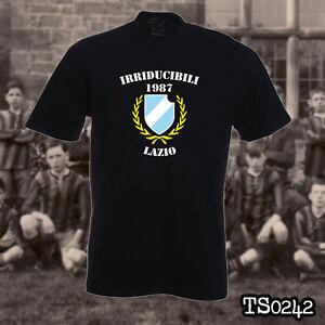 de1cc9bf940 Image is loading LAZIO-IRRIDUCIBILI-ULTRAS-t-shirt