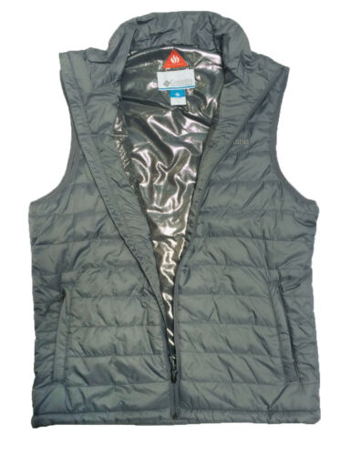 Columbia Crested Butte II Omni Heat Mens Vest NAVY BLACK GREY GREEN S M L XL XXL