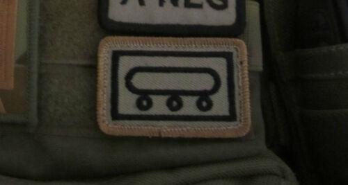 NATO VELCRO® TAC SYMBOLS FOR SORD PLATATAC MOLLE CHEST RIGS ADMIN PANEL