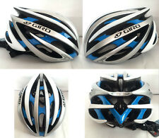 Giro bicycle Road Cycling MTB Bike Helmet size M (54-59cm) Blue/white/silver box