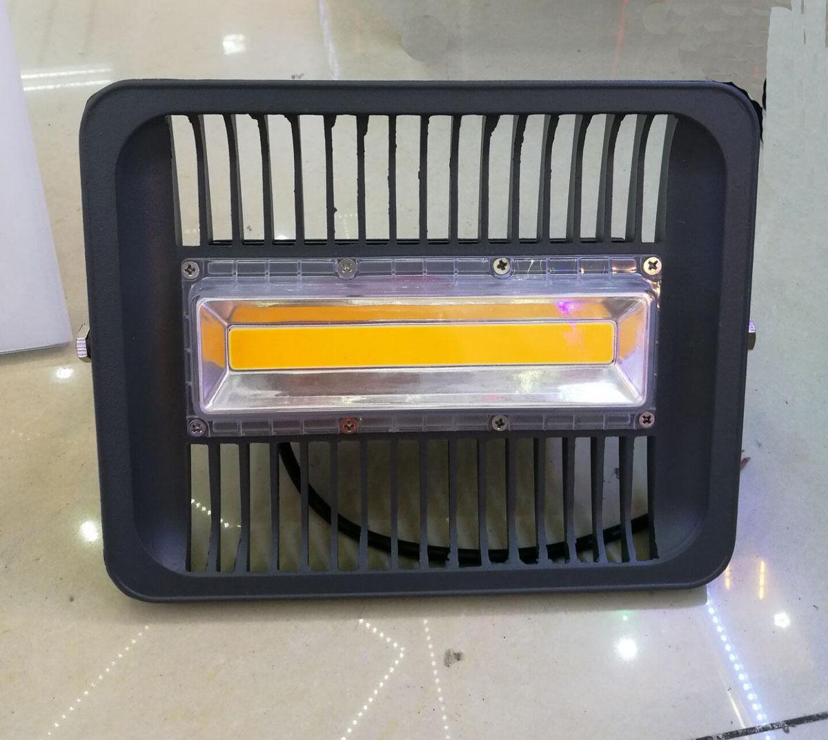 LED Flood Spotlight 30W 50W 100W 110V220V LED Reflector Spot light heatsink