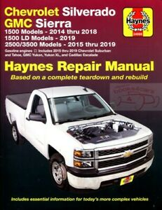Cadillac Escalade Shop Manual Service Repair Haynes Book Chilton Ebay