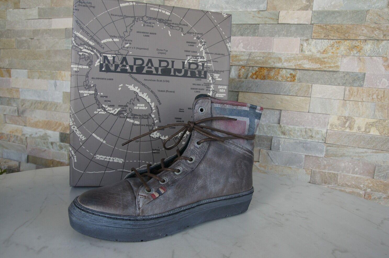 Napapijri 40 Bottines Chaussure Lacée chaussures démarrageies terne Nouveau ehemuvp