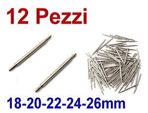 ANSE-PERNI-FERMI-OROLOGIO-CINTURINO-A-MOLLA-SCATTO-18mm-20mm-22mm-24mm-26mm