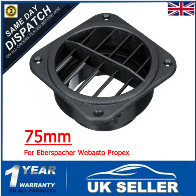 Car Heater Duct Ducting 75mm Warm Air Vent Outlet For Eberspacher Webasto  !