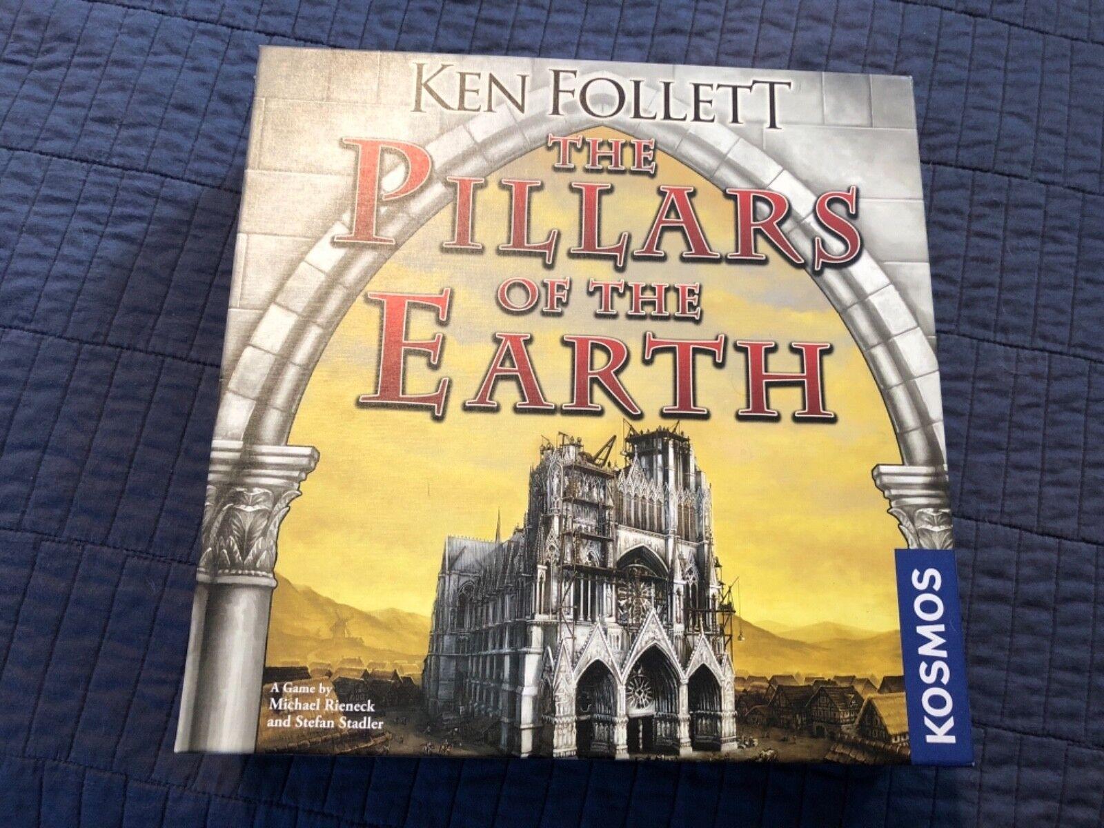 Ken Follett The Pillars of the Ekonsth Board spel New and Perfect