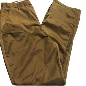 FIELD-amp-STREAM-Hunting-Trousers-Brush-Pants-Mens-Lined-Nylon-38-X-33-Upland-Bird