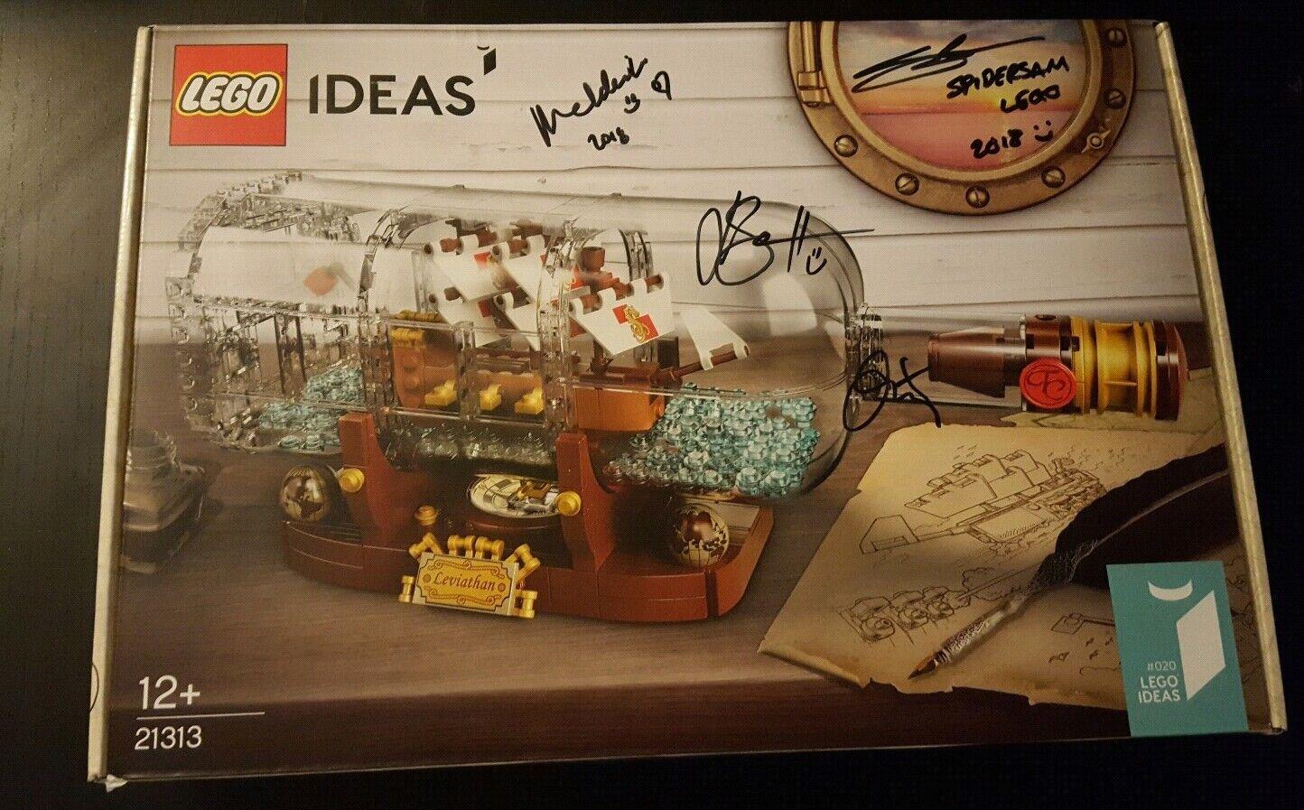 Lego Ideas (21313) barco En Botella-Nuevo Y Sellado En Caja-barco