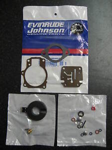 Evinrude Johnson OMC Outboard Carb kit 18hp - 75hp