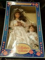 Dan-dee Collector's Choice Large Mother Daughter Porcelain Dolls