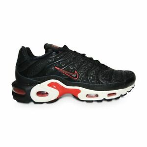 Details about Womens Nike Tuned 1 Air Max Plus PRM TN - BV6116001 - Black University Red