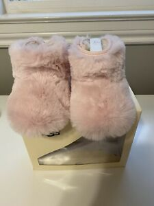UGG Baby JESSE BOW II Baby Pink Fluff