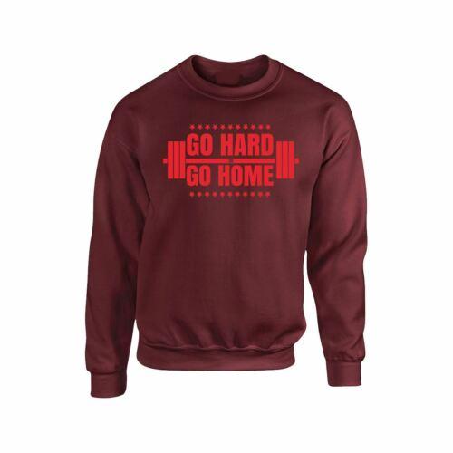 Bodybuilding Go Home homme adulte sweat shirt drôle construire Training Tee Cadeau Robe
