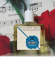Eau De Cologne Absolue Le Secret D'orsay Splash 3.4 Oz. Vintage. Unbox.