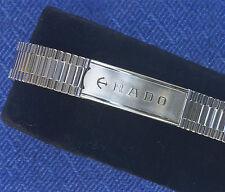 Vintage 12mm ladies Rado watch bracelet NSA Swiss 1960s/70s steel 12 sold here