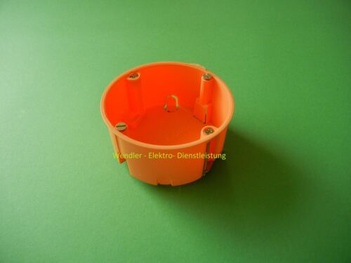 Hohlwanddose 3 Stück Hohlwanddosen extra flach  Höhe 35mm